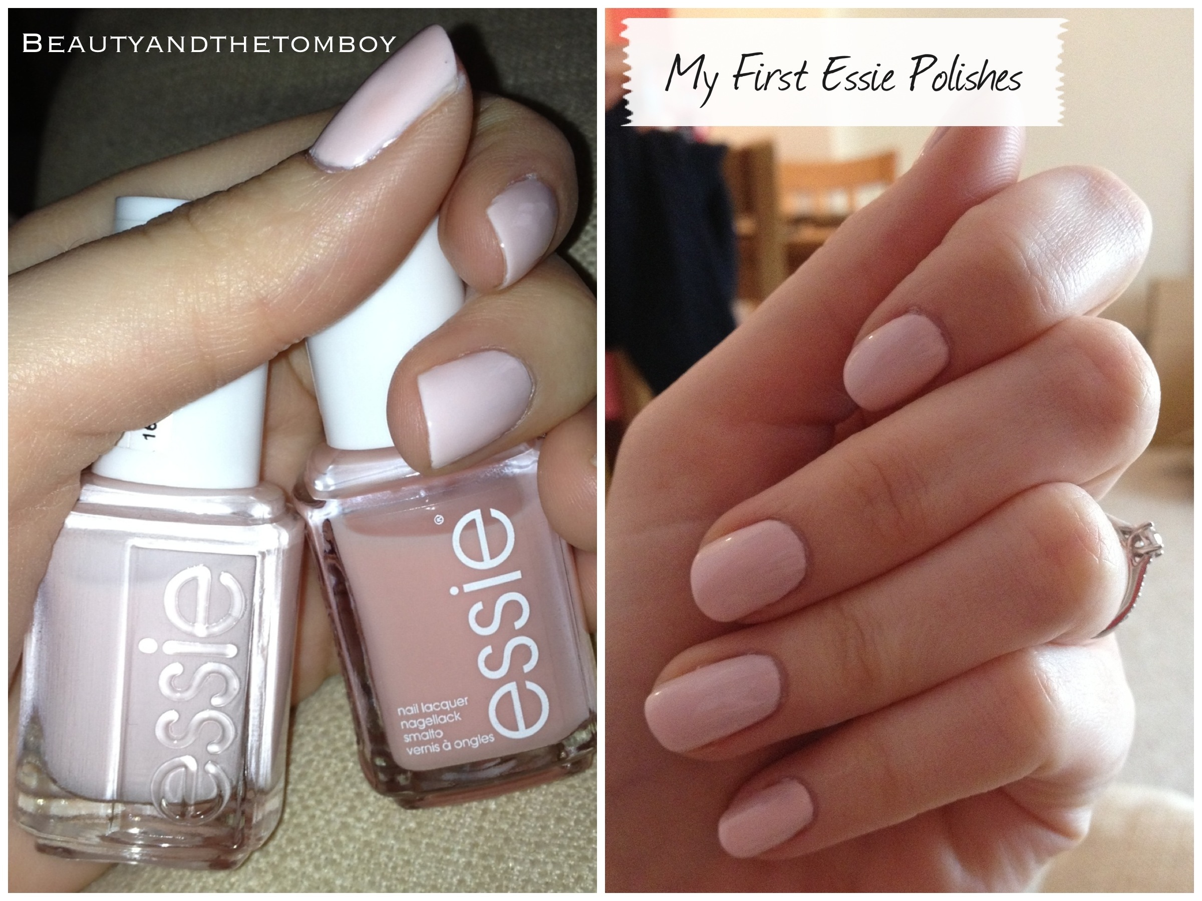 My First Essie Nail Polishes | Beauty & The Tomboy.